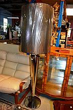 Original Conan brand new floor lamp, chrome plated
