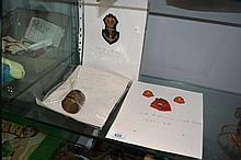 Collection of items incl. WWI Australian trench