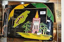 Vintage lacquered photo album from Malaya &