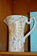 Large Royal Albert water jug by Zandra Rhodes with