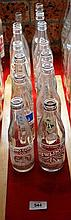 14 x small vintage soft drink bottles, all sealed
