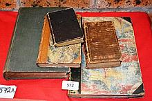 Collection of 5 various antique books incl.