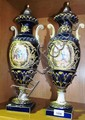 A wonderful pair of large antique Sevres porcelain