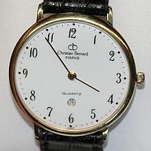 Gent's Christian Bernard France wrist watch,