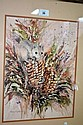 Gloria Muddle watercolour of a possum & Australian