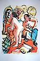 Wendy Sharpe, Lim Ed coloured screenprint,