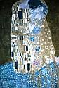 Framed Gustav Klimt print, 67x48cm