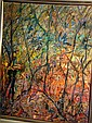 Hilda Muder oil on board 'Bush secrets' signed &