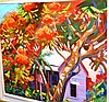 John Millington oil on canvas board 'Queensland