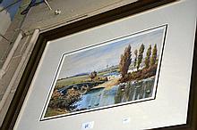 Edward Herbert Burt-Smith watercolour, English