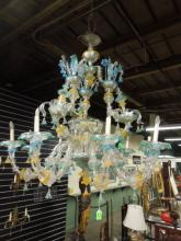 Venetian Glass Palatial Chandelier