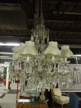 Crystal Chandelier, 8 Light