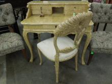 Harris Marcus Furn Co. Desk & Chair