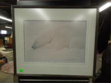 Thomas Mangelsen, photo print, Polar Bear