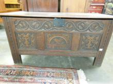 Jacobean Style Blanket Chest