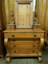 Empire Dresser w/Mirror