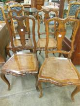 Set of 4 French Provincial Side Chairs