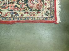 Antique Sarouk Room-Size Carpet