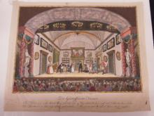 (4) 19th C. Color Engravings