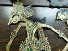Antique Indonesian Shadow Puppets