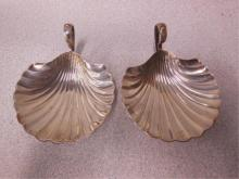 2 Sterling Shell Form Nappies