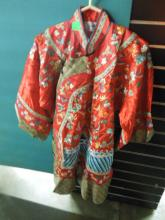 Chinese Silk & Embroidered Ladies Coat