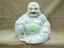 Chinese Porcelain Seated Buddha