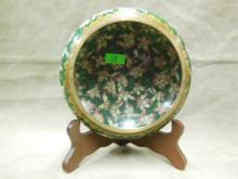 Chinese Cloisonne Brush Wash Bowl