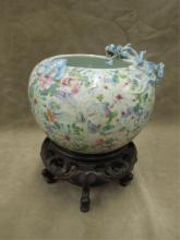 Chinese Porcelain Rose Bowl