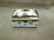 Staffordshire Crown Trinket Box