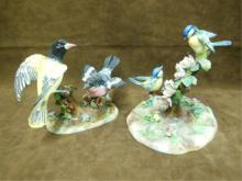 2 Crown Staffordshire Bird Figure