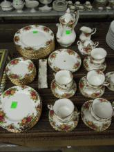 Royal Albert China Service-Old Country Roses