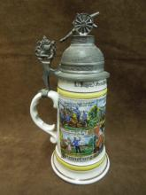 German Military Beer stein