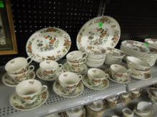 Wedgwood-Eastern Flowers Dinner Service-176 pc