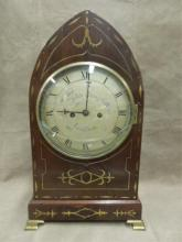 Barth (London) Regency Gothic Revival Shelf Clock