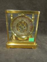 Le Coultre Atmos Clock, Brass & Glass