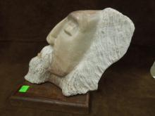 Smichele, 1999 Sculptured Marble Bust