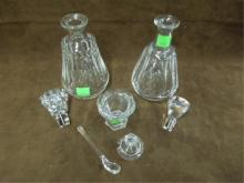 Lot 3 Baccarat Crystal Pieces