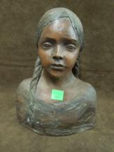 Nadine Karnow Sculptured Bust