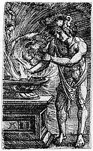 Altdorfer, Albrecht: Mucius Scaevola verbennt seine Hand