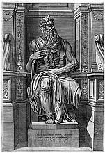 Beatrizet, Nicolas: Moses vom Julius-Grabmal