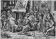 Bosch, Hieronymus - nach: Fastnachtsdienstag.