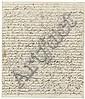 Arnim, Bettina von: Brief 1838 an Hermann Weiße