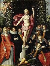 Caulery, Louis de - Werkstatt: Bacchus und Venus