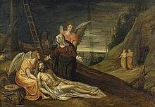 Niederländisch: 17. Jh. . Beweinung Christi
