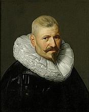 Niederländisch: 17. Jh. Brustbildnis eines Edelmannes