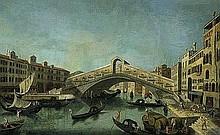 Bellotto, Bernardo - Nachfolge: Der Canale Grande mit der Rialtobrücke