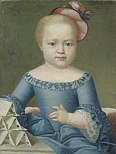 Österreichisch: 18. Jh. Bildnis eines Mädchens