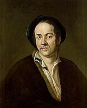 Deutsch: Anfang 18. Jh. Bildnis des Malers Johann Kupetzky