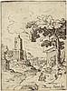 Bril, Paul - Umkreis: Landschaft mit dem Torre delle Milizie